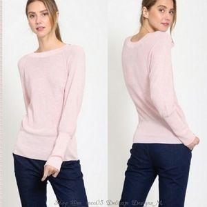 ⭐HP⭐ Light Pink Cotton Sweater